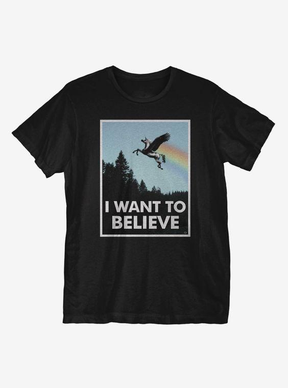 Believe Police Box T-Shirt ER01