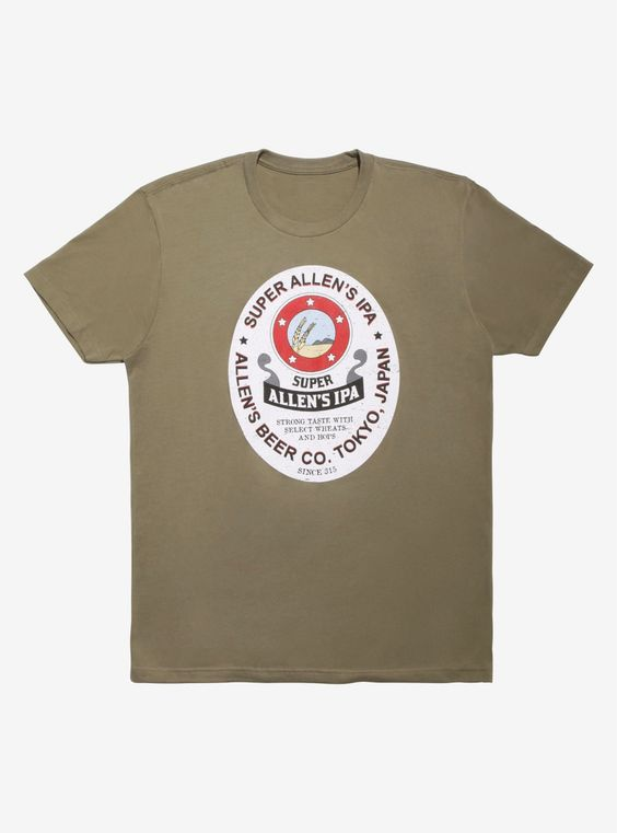 Cannon Busters IPA T-Shirt Hot ER01