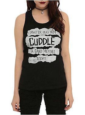 Cuddle Band Member Girls Tank Top ER01