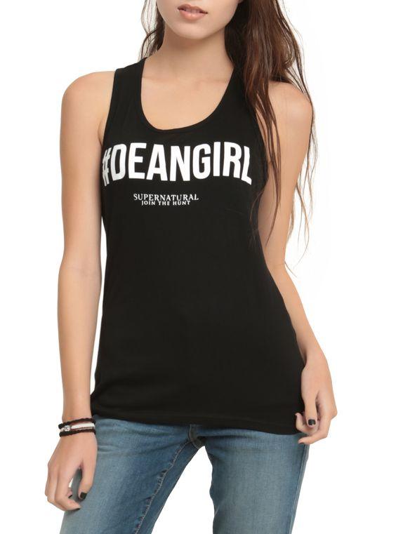 DeanGirl Girls Tank Top ER01