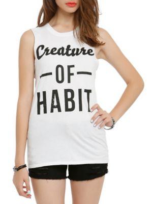 Habit Girls Muscle Tank Top ER01