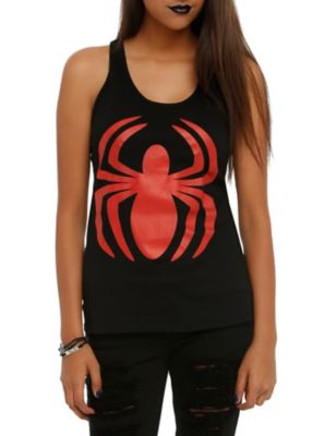 Marvel Spider-Man Logo Girls Tank Top ER01