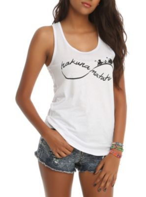 Matata Infinity Girls Tank Top ER01