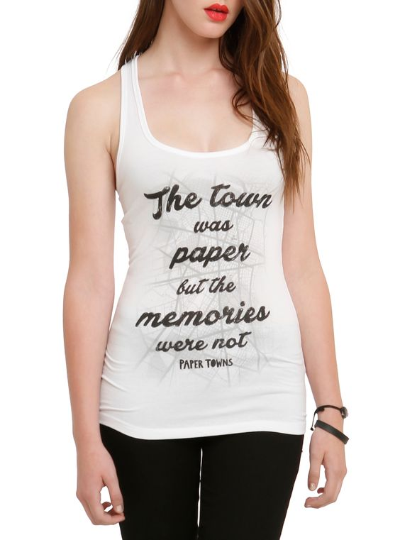 Memories Girls Tank Top ER01