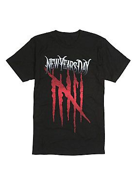 New Years Day Malevolence T-Shirt ER01