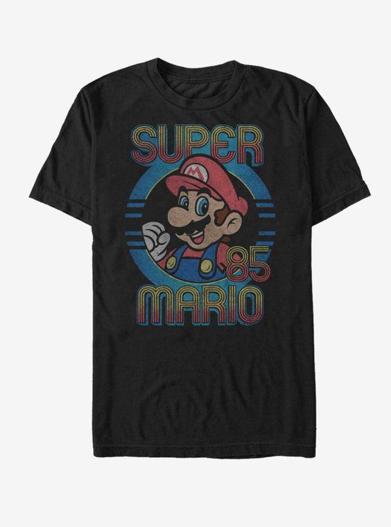Nintendo Super 85 Fade T-Shirt ER01
