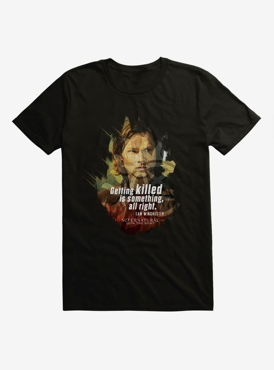 Supernatural Sam Winchester T-Shirt ER01