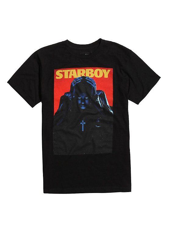 The Weeknd Starboy T-Shirt ER01