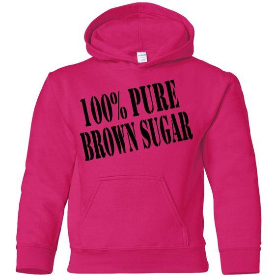 100% Pure Brown Sugar Hoodie AZ28