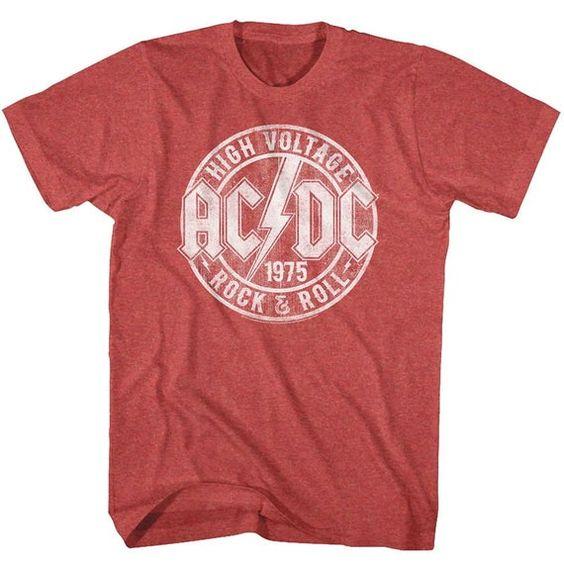 AC DC Rock and Roll T-Shirt VL