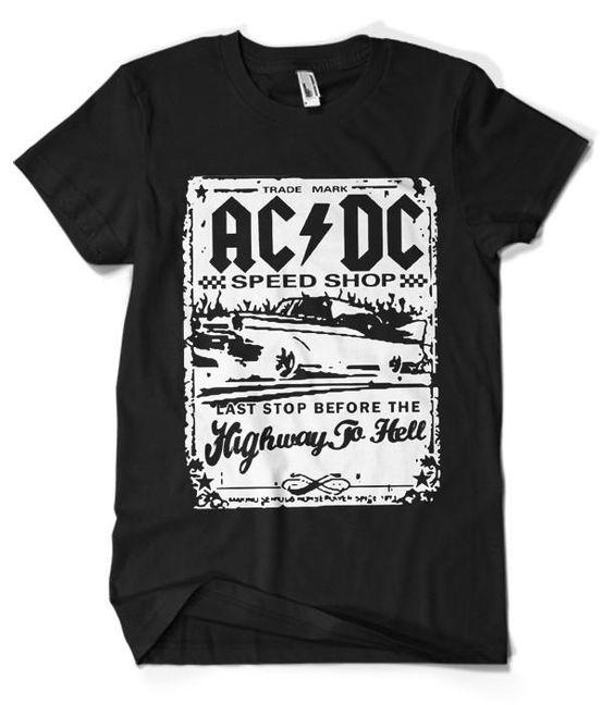 ACDC T-Shirt VL