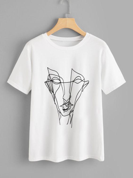 Abstract Graffiti T-shirt FD30