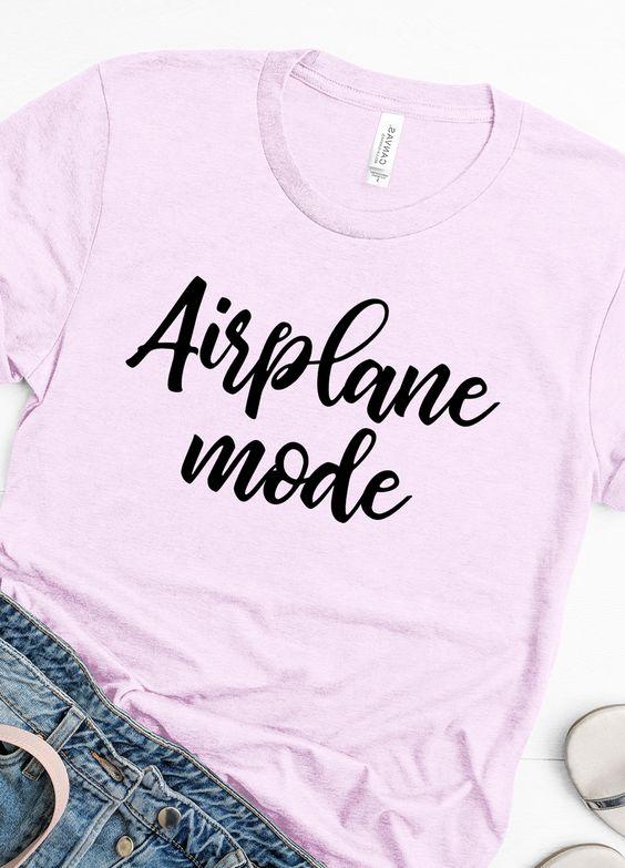 Airplane Mode T-Shirt EM01