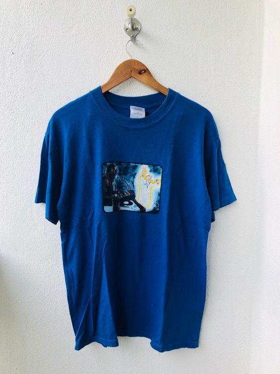America 00's Skateboard T-Shirt AZ