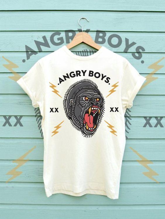 Angry Boys Gorilla Shirt FD30