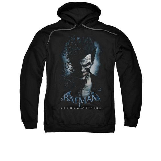 Arkham Origins Hoodie Joker Black DV01