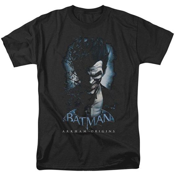 Arkham Origins Joker T-Shirt DV01