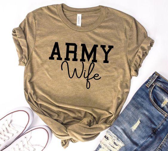 Army Wife T-Shirt AZ01