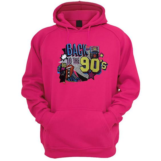 Back To The 90's Hoodie AV01