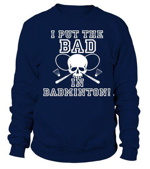 Badminton Skull Sweatshirt EL01