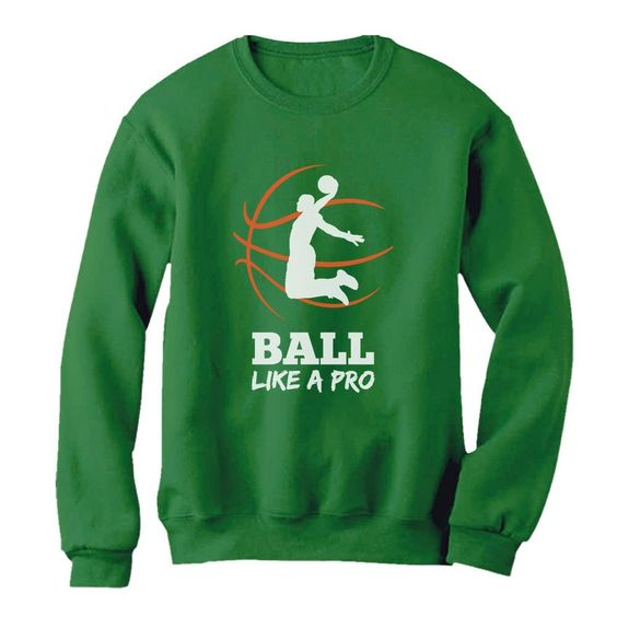 Ball Like A Pro Sweatshirt EL01