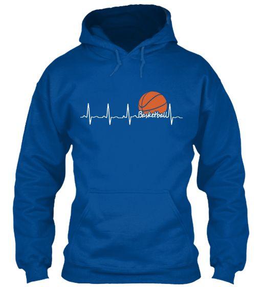 Basketball Heartbeat Hoodie EL01