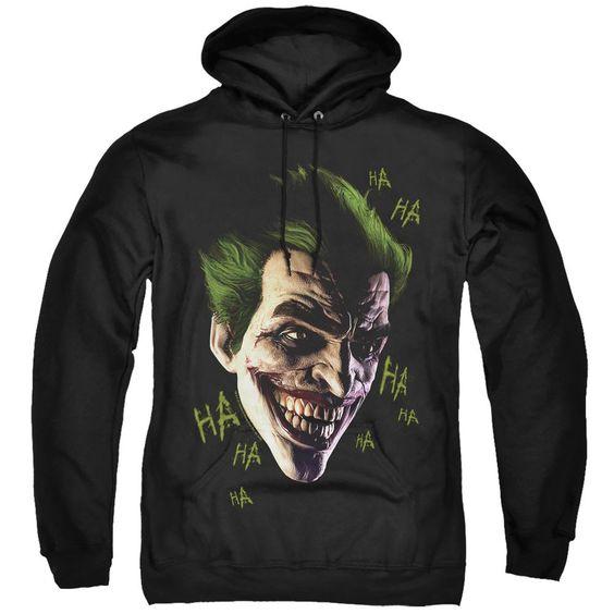 Batman Arkham Origins Hoodie Joker DV01