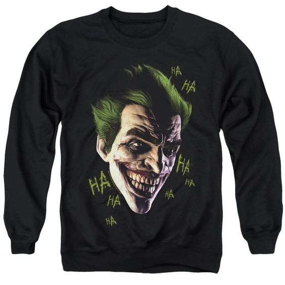 Batman Joker Arkham Origins Sweatshirt DV01