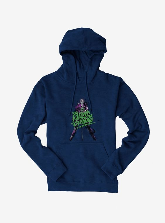 Batman Joker Clown Prince Blue Hoodie DV01