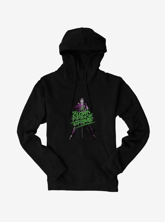 Batman Joker Clown Prince Hoodie DV01