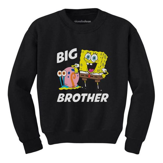 Big Brother Spongebob Sweatshirt SR01