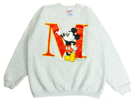 Big M Mickey Disney Sweatshirt FD01