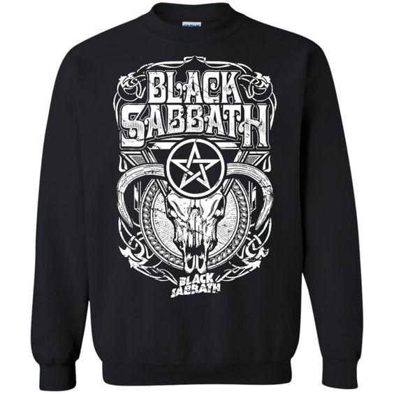 Black Sabbath Concert Sweatshirt EL01