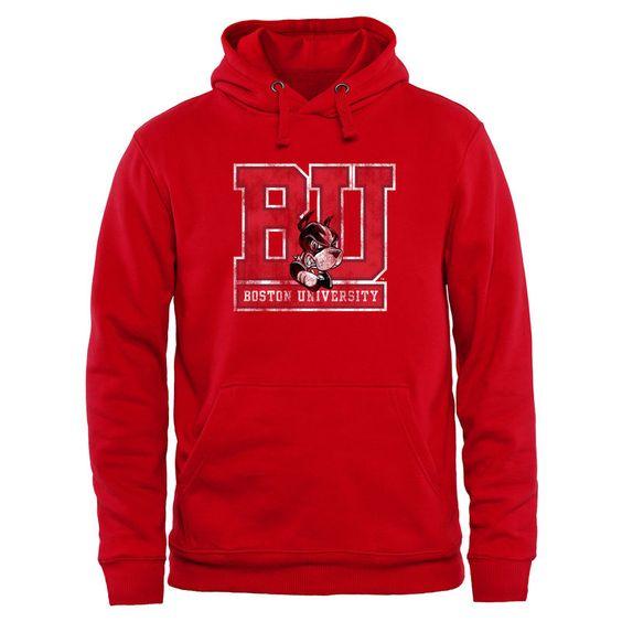 Boston University Classic Primary Hoodie AV01