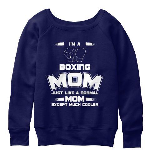 Boxing Mom Sweatshirt EL01
