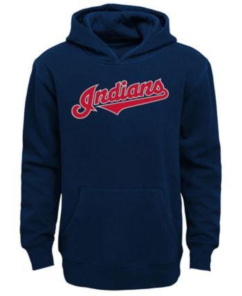 Boys Cleveland Indians Wordmark Hoodie DV01