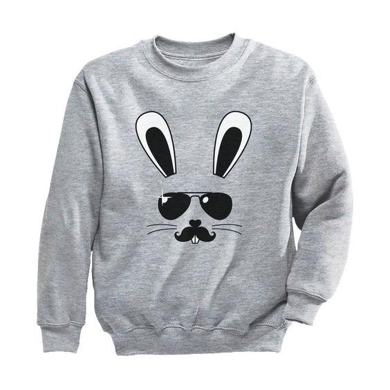 Bunny Face Sweatshirt SR30