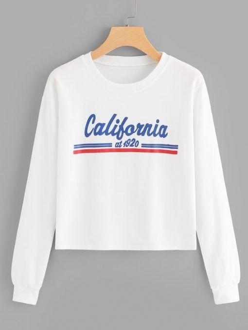 California Sweatshirt FD30