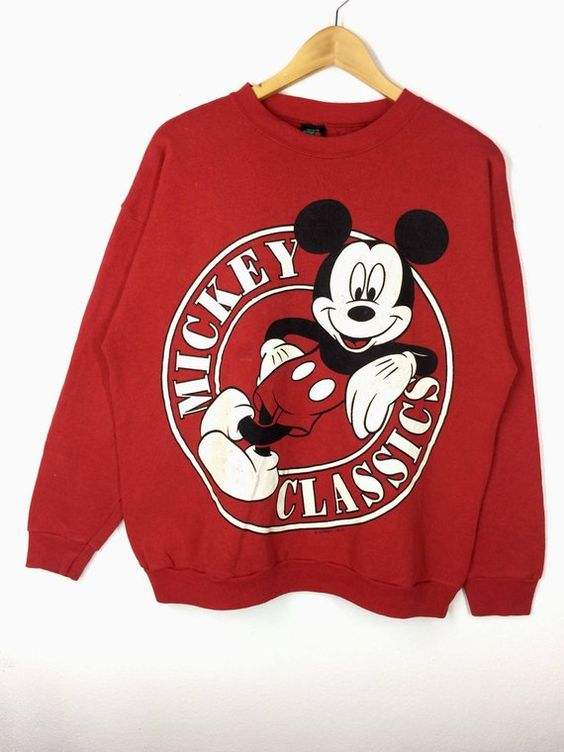 Cartoon Walt Disney Sweatshirt VL26