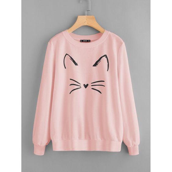Cat Sweatshirt EM01