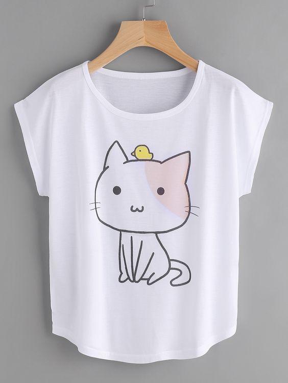 Cat T-Shirt EM01
