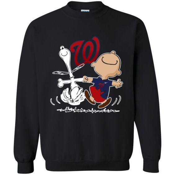 Charlie Brown Snoopy Sweatshirt AV01