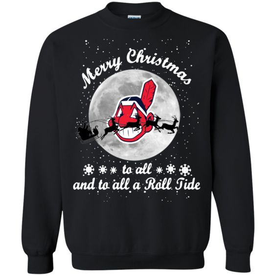 Cleveland Indians to all Roll Sweatshirt DV01