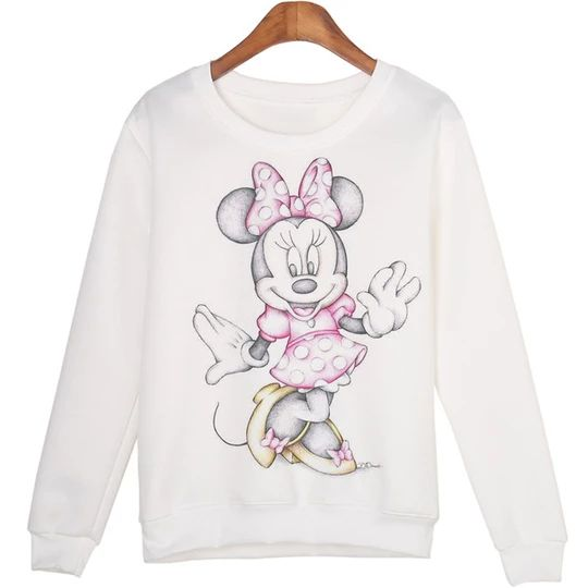 Cute Minnie Sweatshirt FD01