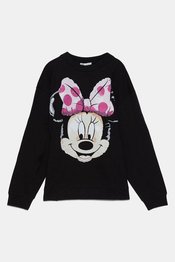 DISNEY MINNIE MOUSE Sweatshirt FD01