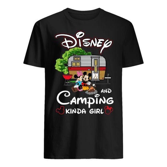 Disney And Camping T-shirt SR01