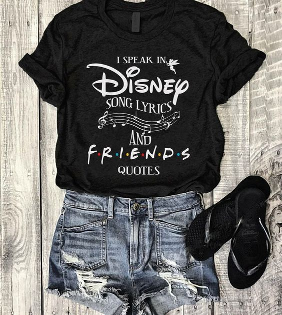 Disney And Friends T Shirt SR01