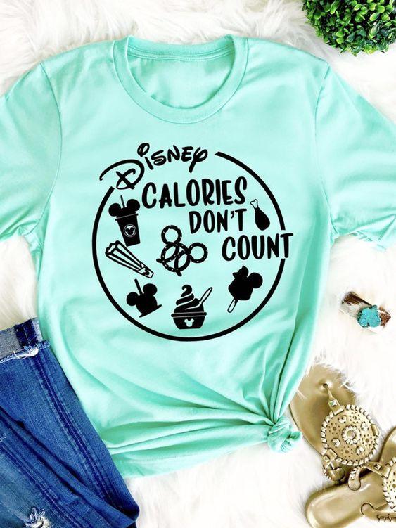 Disney Calories dont T-shirt AI01