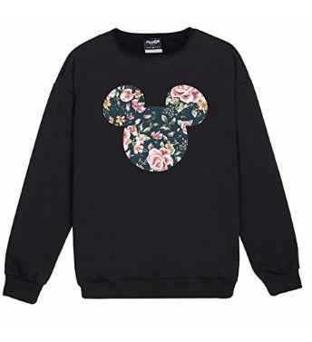 Disney Mickey Floral Sweatshirt FD01