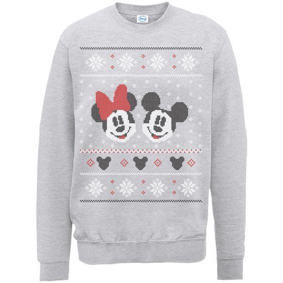 Disney Mickey Mouse Christmas Sweatshirt FD01